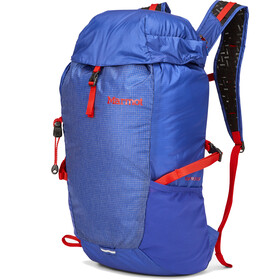 Marmot Kompressor Sac à dos 18l, royal night/victory red